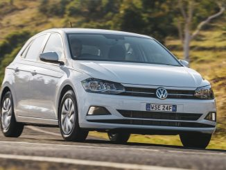 2018 volkswagen polo on road