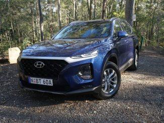 Hyundai Santa Fe Active front