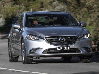 2018 Mazda6 Atenza front