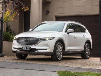 2018 Mazda CX-8 front