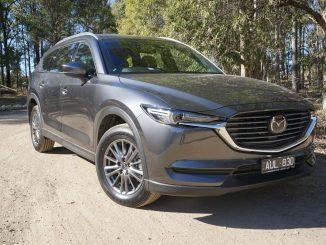 2018 Mazda CX-8 Sport front