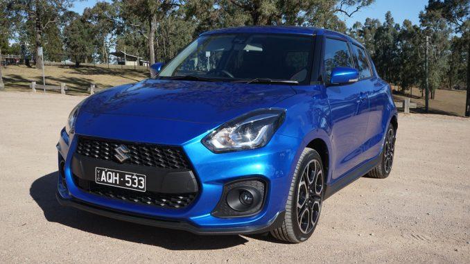 Suzuki Swift Sport front