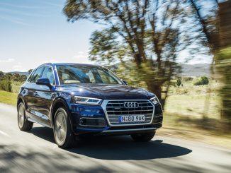 Audi Q5 TFSI front
