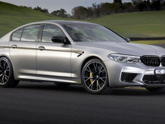 BMW M5 Competition side 2