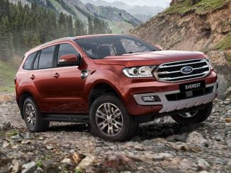 2018 Ford Everest 2.0 Trend front