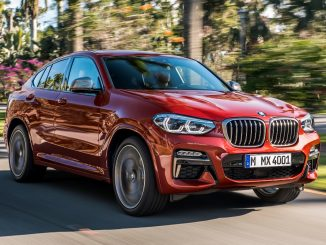 2019 BMW X4 XDrive30i Review front