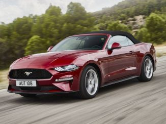2019 Ford Mustang GT Convertible front