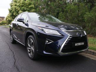 2018 Lexus RX450h Sports Luxury front