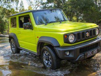 2019 Suzuki Jimny Review front