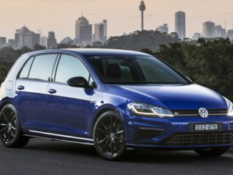 VW GOLF R Special Edition front 34