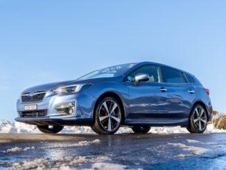 2019 Subaru Impreza Perisher front qtr