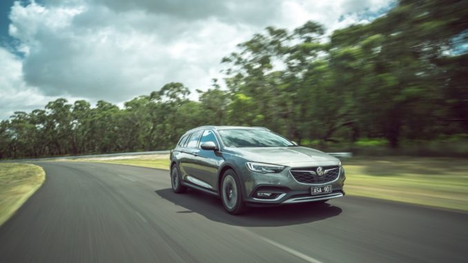 2019 Holden Calais AWD Tourer wagon 8 driving