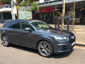 2019 Audi SQ7 Black Edition 6 front qtr