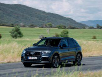 Audi SQ5 TDI driving